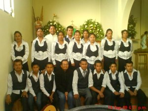 "Coro ""Santo Cristo"", Atzompa, Ver"